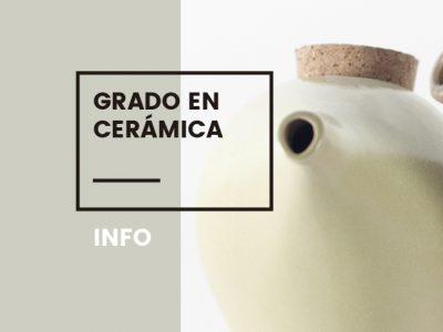 grado en ceramica