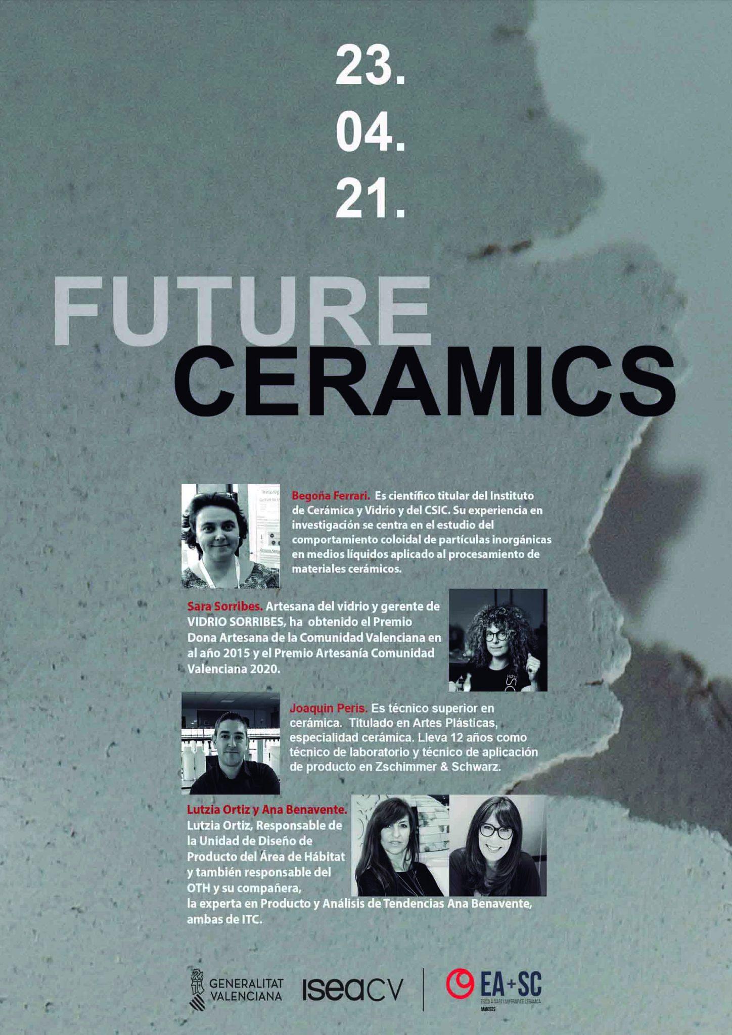 Escola dArt i Superior de Ceràmica » FUTURE CERAMICS 2021